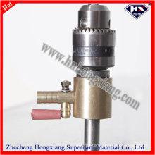 Straight Shank Water Drilling Adapter / Glass Drill Bit