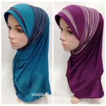 New fashion ladies polyester muslin scarf