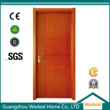 ДПК ПВХ внутренние композитные деревянные двери для домов