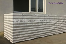 balcony protective awnings outdoor HDPE shanghai zoie