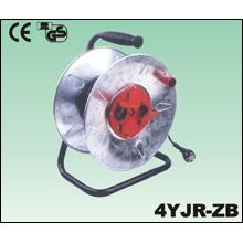 Extensão de fio de cobre elétrico de borracha de pvc do cabo carretel fio bateria colher metal