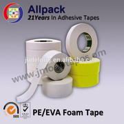 Double Side Adhesive Pe Eva Acrylic Foam Tapes With Iso Sgs Certificates