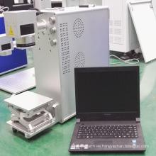 Maquinaria de marcado láser de fibra portátil de 10W
