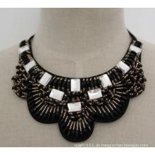 Mode Charme Chunky Bib Kostüm Halsband Kristall Halsband Halskette (JE0004)