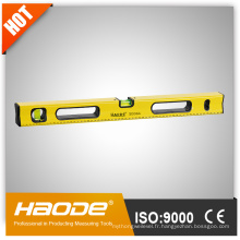Outils à main / niveau d'essieu magnétique / niveau d'essorage en aluminium / niveau d'essieu de boîte robuste
