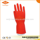 60g Red Latex Household gloves , Kitchen cleaning gloves , dishwashing gloves