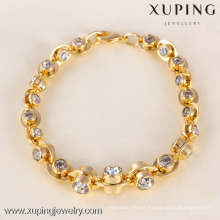 71604 Xuping Fashion Woman Bracelet with Gold Plated