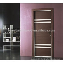 Popular Flush Wood Door With Grooves
