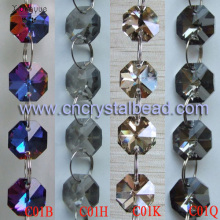 DL08 Coating color Crystal Beaded Chain