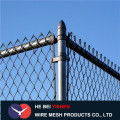 Sports ground high quality chain link fence