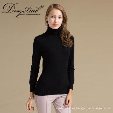 Suéter del invierno de la Navidad de la cachemira de la mujer que hace punto del invierno del estándar Iso9001
