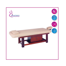 Wood Massage Bed With drawer