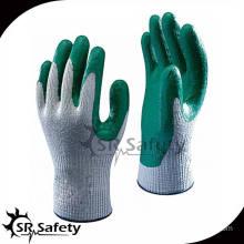 SRSAFETY china cotton glove /latex gloves in safety work/glove manufacturer