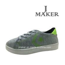 Moda estilo jovem sapato casual com injeção de PVC (JM2081-B)