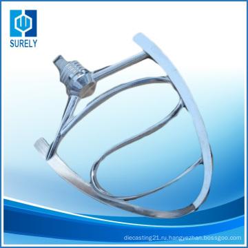 Малый бытовой электрический процесс литья алюминиевых сплавов частей смесителя