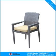 A cadeira nova da sala de estar do Rattan do projeto com otomano relaxa o Recliner