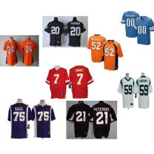 Black Custom Sublimated Print American Football Uniforms