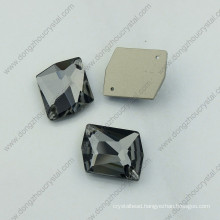 Black Diamond Garment Crystal Stones Glass Stones (DZ-3070)