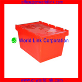 WL-340 New Design 50kgs With The Lids Warehouse Moving PP Crate