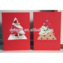 DIY ручной работы с Рождеством Христовым поздравительная открытка