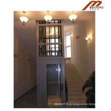 Bom lar elevador com vidro de segurança