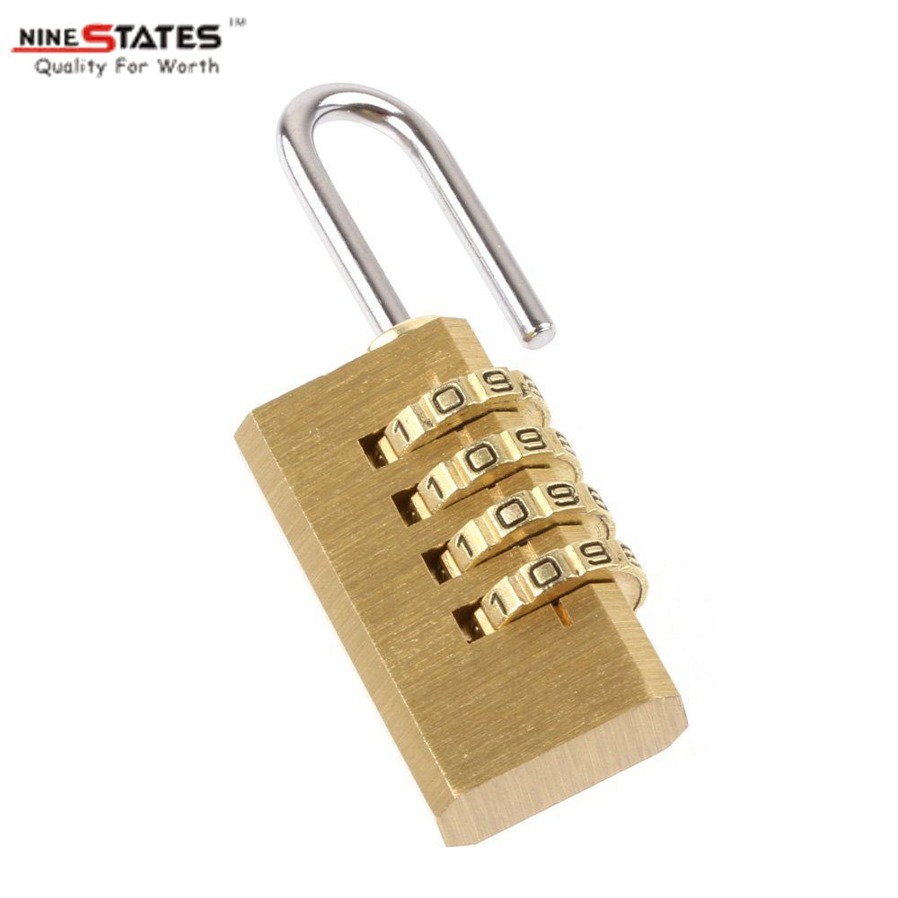 21MM 4 Digit Brass Lock Password Lock