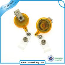 Carretel de distintivo de cabo de extensão retrátil