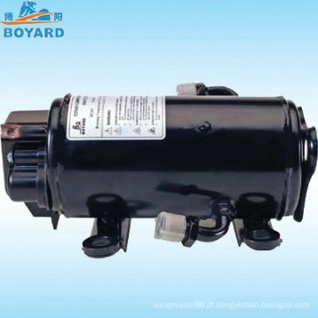 HVAC energia solar R134A DC 12v/24v/72v velocidade variável compressor para a empilhadeira trator EV RV caminhão dorminhoco táxi
