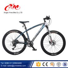 Alibaba heißer verkauf 26 zoll bicicletas mountainbike / innere abziehbilder scheibenbremse mountainbike / downhill vollfederung mountainbikes