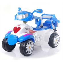 Motocicleta eléctrica del bebé con cuatro ruedas, motocicleta eléctrica de los cabritos
