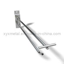 Scanning Holder for Supermarket Shelf Metal Slatwall Pegboard Hooks