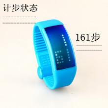 3D sensor meter pecutan memori watch pedometer, pedometer watch pergelangan tangan