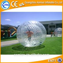 Boule de bulle à bulles géantes pour adultes, équipement de balle zorbing