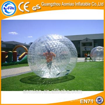 Bola gigante del cuerpo de la burbuja del zorb para el equipo de la bola del zorbing, adulto