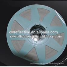 fita reflexiva do pneu da roda de bicicleta de prata visível alta