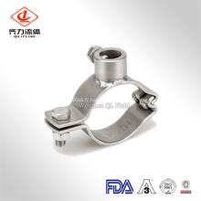 Support de tuyau sanitaire de bride d'acier inoxydable de règlement