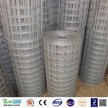 Zinc coated welded mesh roll