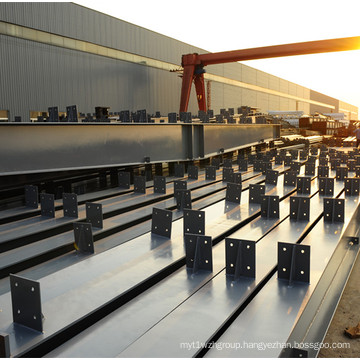 Prefabricated Workshop Plant Steel Structure Building with Overhead Cane