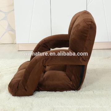 Sofá ajustável da cadeira do assoalho com o braço para 5 etapas ajustáveis