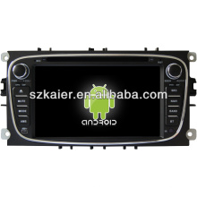 Android System lecteur dvd de voiture pour FORD Mondeo avec GPS, Bluetooth, 3G, ipod, Jeux, Dual Zone, Contrôle du volant