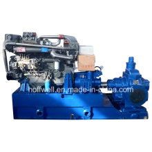 Pompe à huile entraînée par moteur diesel de la CE KCB2500 approuvée par CE