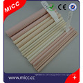 MICC 90 95 99 99.7% 99.8% al2o3 poroso tubo de cerâmica de alumina com preço de fábrica