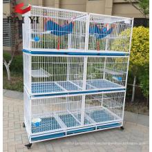 Neuer Entwurfs-Haustier-Katzen-Käfig, Metallkäfig, Katzenzucht-Käfig-Lieferant