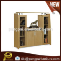 Luxury wood filing cabinet with 4 doors