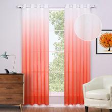 Polyester-Druck Voile Fenster Vorhänge