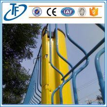 Security peach shaped post metal fence