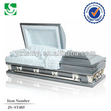 JS-ST485 China made steel caskets