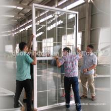 Ventanas abatibles de una sola ventana colgada por arriba para inodoro o doble