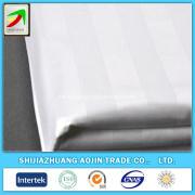100% cotton 250T satin stripe 3cm fabrics