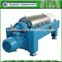 Automatic small decanter centrifuge continuous